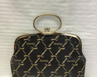 Carriage Panther, Clutch, Purse, small,handbag