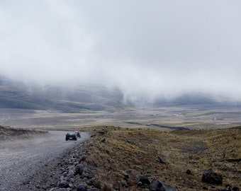 The magnificent panoramic view at the foot of Cotopaxi (For digital download)