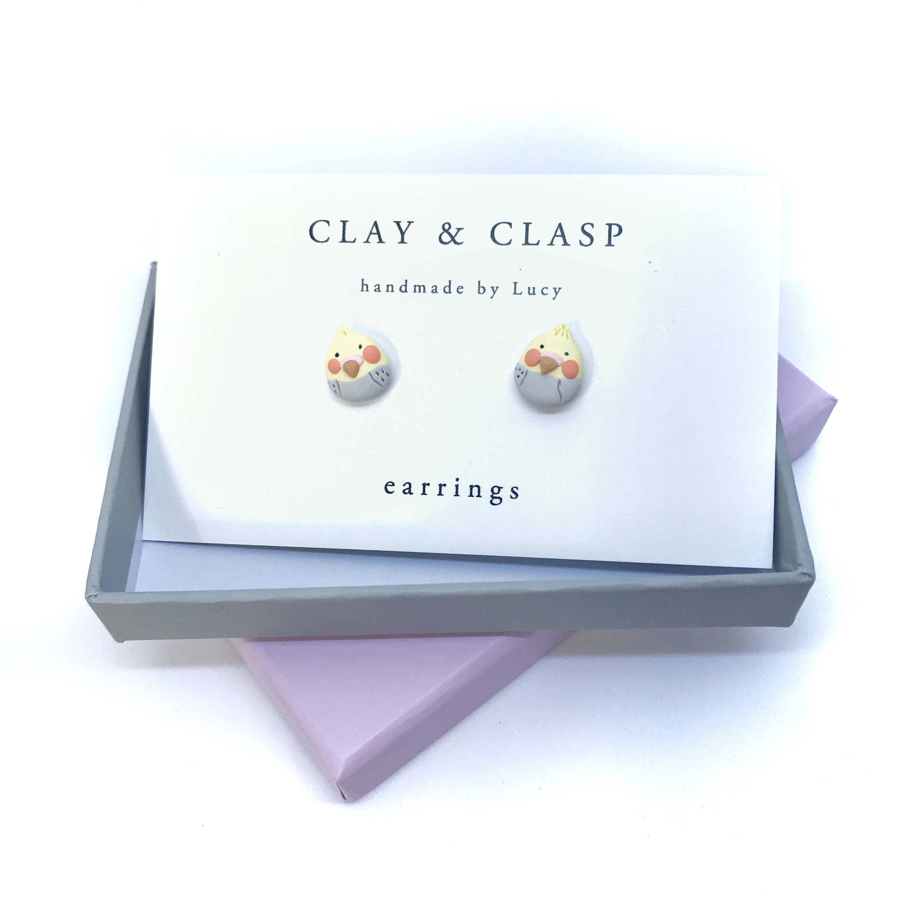 small zircon ring earrings pin clasp fashion cute korean ear tee layer