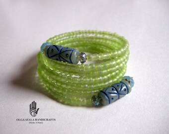 Green Cuff Wrap
