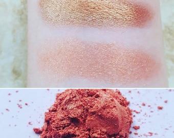 Sailor Venus - Orange-Gold, Mineral Eyeshadow, Mineral Makeup, Vegan