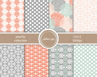 Digital Scrapbooking Papers and Backgrounds