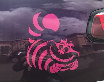 Chesire Cat Decal