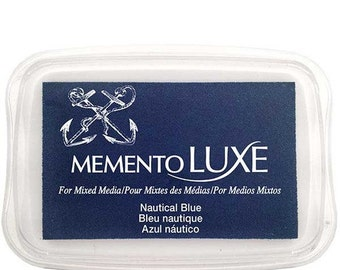 Memento Luxe Nautical Blue Ink Pad