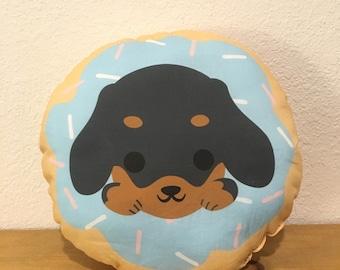 Dachshund Dognut Pillow