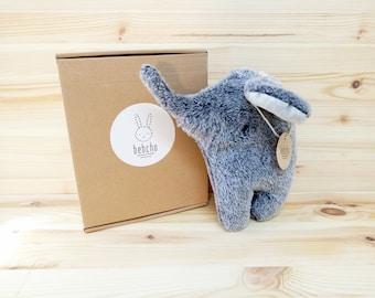 elephant  toy, soft toy, baby room decor, plush toy, handmade