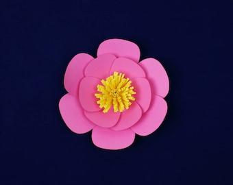 "Large paper flower, paper flower, medium paper flower, big paper flower for any occasion ""AMARA"""