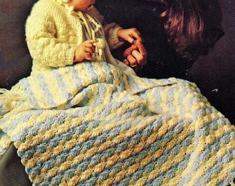 Baby Crochet Pattern, Crochet Baby Blanket Pattern, Crochet Baby Sweater Pattern, Baby Shower Gift Idea, INSTANT Download Pattern PDF (1324)