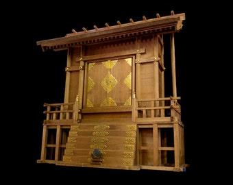 Large Shinto Shrine - FREE SHIPPING