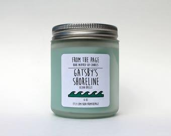 Gatsby's Shoreline Soy Candle - 8 oz
