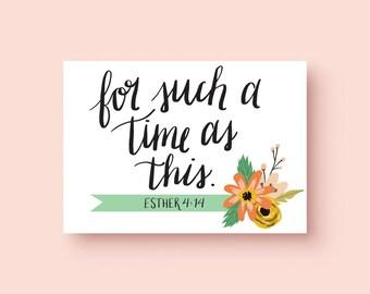 Esther 4:14 Print