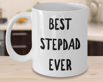 Step Dad Mug Step Dad Gift Stepdad Coffee Mug Stepdad Birthday Gift - Best Stepdad Ever World's Best Stepdad Ceramic Coffee Cup