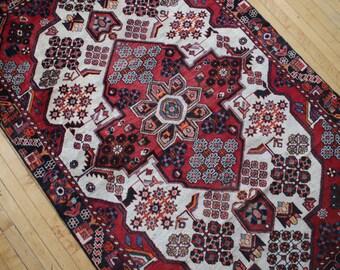 Antique Wool Vintage Persian Rug // KODI // FREE Shipping in USA!