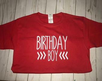 Birthday Boy Shirt- Birthday Shirt-Bday shirt