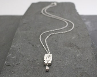 Balinese Sterling Silver Necklace, Bali Silver Jewelry, Bali Pendant Necklace, Sterling Silver, Balinese Jewelry, Silver Swirl Jewelry