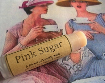 Pink Sugar Natural Lip Balm