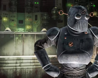 Fallout 4 Automatron -  Full Set - EVA Foam Templates