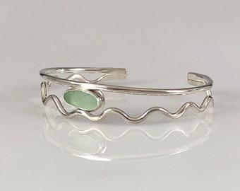 Wavy Cuff Bracelets