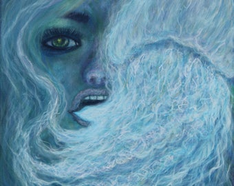 Pipe Dreams-smoke-girl-face-jellyfish-art-painting-water-trippy-fantasy