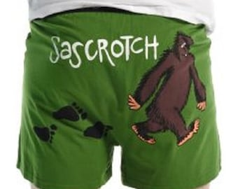 Sascrotch Funny Boxers