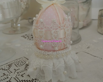 egg decorative shabby