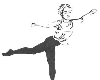 Edie Sedgwick Ballet Moves
