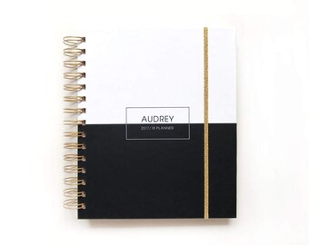 2018 planner 2018 personalized planner 2018 student calendar 2018 weekly planner 2018 daily planner 2018 student planner 2018 planner