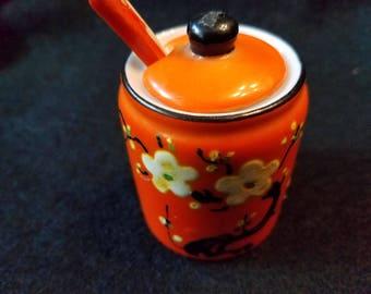 Japanese Mustard Pot