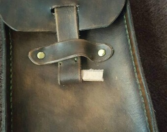 Real Leather holder .
