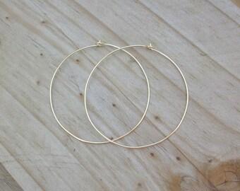 14k Gold Filled Hoop Earrings. 2 Inch Hoop Earrings. 14k Gold Hoop Earrings. Hoop Earrings. Gold Hoop Earrings. 2 Inch Hoops. Hoop