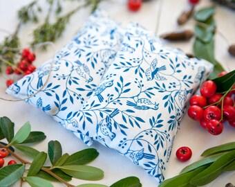 Birds Lavender Sachet - Aromatherapy - Gift for mom - Drawer sachet  - Organic Lavender Sachet - Favor - Lavender Bag - Gift sachet