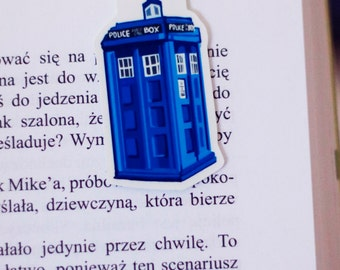 TARDIS Bookmark