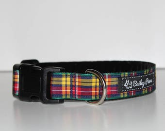 Tartan Dog Collars ( 3 options)