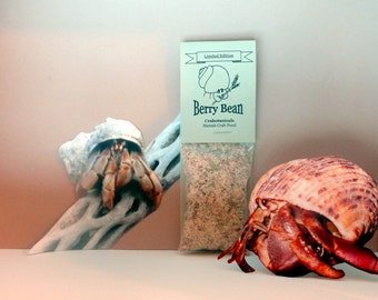 Hermit Crab Food Berry Bean All Natural Pet Food by Crabotanicals