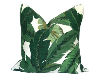 Banana Palm pillow covers - Indoor/Outdoor - Made to Order