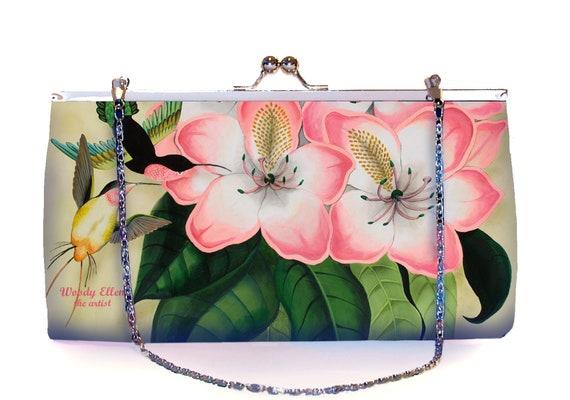 Retro clutch, Libre, clutchbag, birthday gift, gift for her, gift mom, Woody Ellen bag, christmas gifts,valentine gift ideas, bridal bag