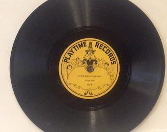 Laboratoire de Playtime Records 1937 copier disque 78 tours. Excellent navire gratuit aux États-Unis