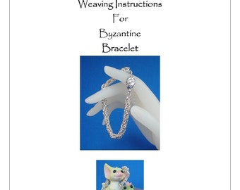 PDF Instructions For The Byzantine/Birdcage Chainmaille Weave