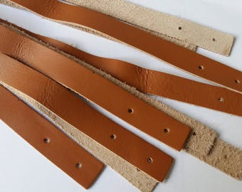 Leather strip