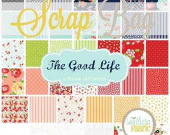 The Good Life - Scrap Bag Quilt Fabric Strips by Bonnie and Camille for Moda