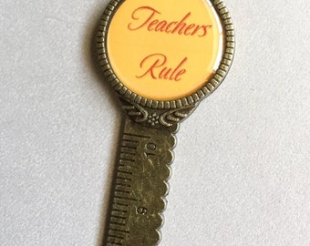 Teachers bookmark, Teachers rule