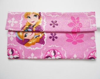 Frozen Anna Elsa Reusable Snack Bag