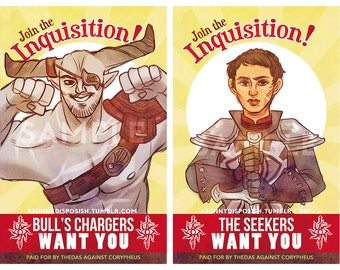 Join the Inquisition 11 x17 Prints