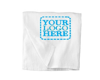 Custom All Terry Beach Towel  Add Your Logo or Text