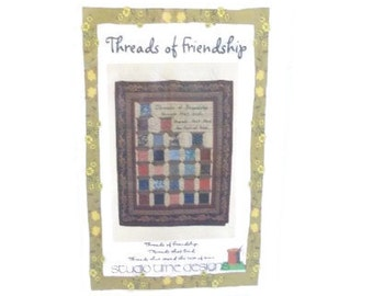 Threads Of Friendship Spool Theme Quilting Pattern