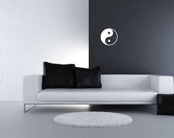 Yin & Yang Vinyl Wall Decal