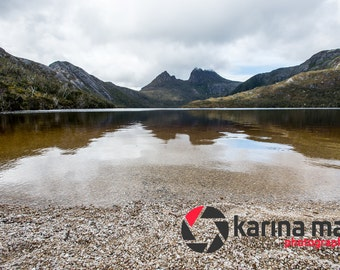 Cradle Mountain Photo, Lake St Clair National Park, Tasmanian Print, Australian Scenery, Wall Art, Home Decor