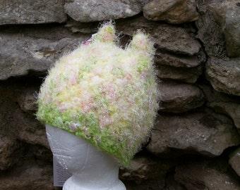 Custom Earred Hat - OOAK Aberrant Crochet Design