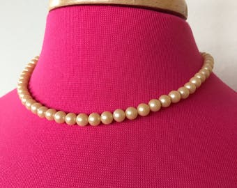 Vintage Japan Faux pearl necklace