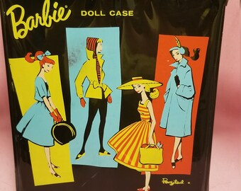 Vintage 1961 barbie doll case